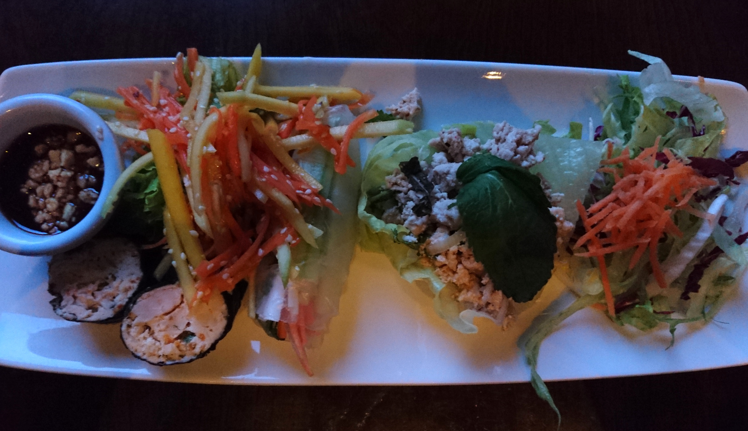 Healthy Starters at Siam Thai Malahide