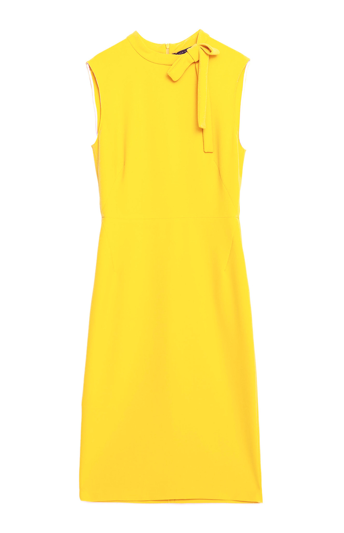 Yellow-Tube-Dress-Zara